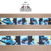 MARTINGALE DOG COLLAR - ROWDY RACOONS